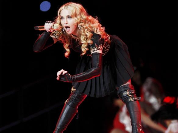 Madonna On MDNA Tour