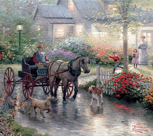 Thomas Kinkade's : A Child's A Gift