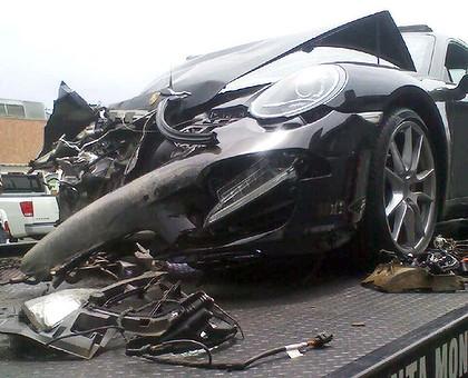 L. Hohan car wreck