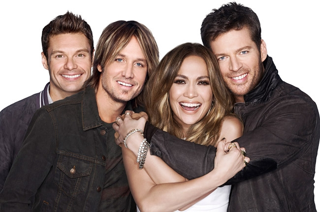 The 2015 American Idol Judges Panel remains the same.  Ryan Seacrest as host, Keith Urban, Jennifer Lopez and Harry Connick Jr., will return for Season 14 in January 2015.