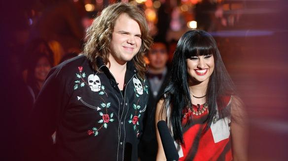 2014 came down to Rocker, Caleb Johnson and Powerhouse singer, Jena Irene.  Johnson took the Idol Crown.