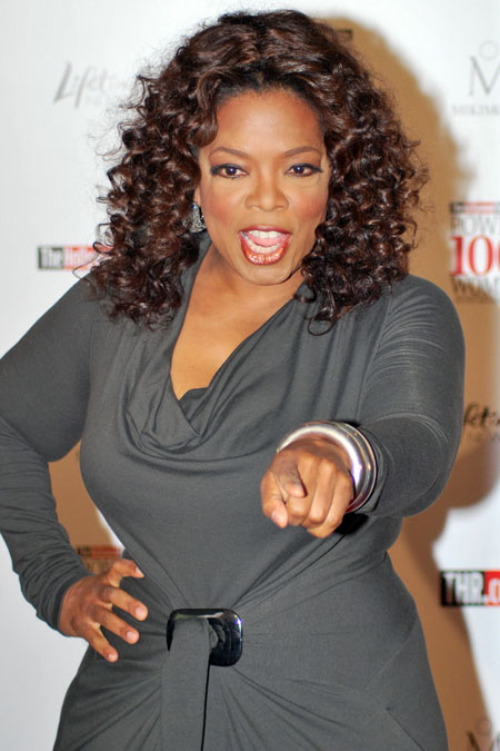 Self-made Life Guru, Oprah Winfrey.