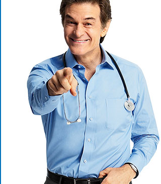 Another Oprah backed protege, Dr. Mehmet Oz