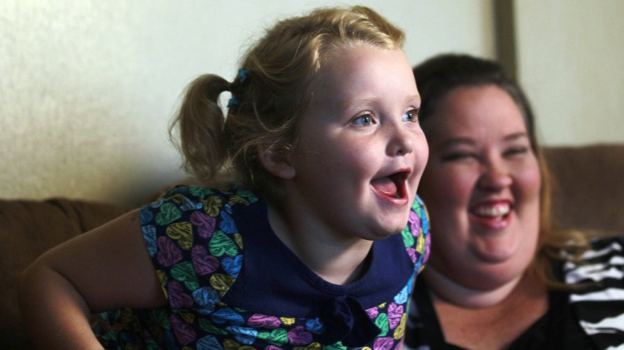 "Alana ""Honey Boo Boo"" Thompson and mother, June Shannon's show, ""Here Comes Honey Boo Boo"" cancelled due to June's relationship with a convicted child molester."