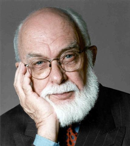 James Randi, magician, conjurer, de-bunker.
