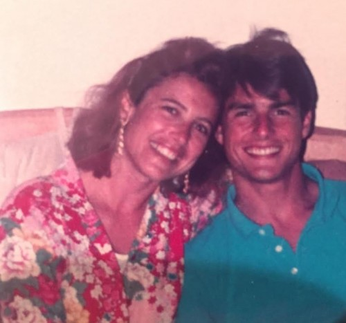 Tom Cruise and Mimi Rogers. Scientology and Cruise's cheating broke up that marriage.