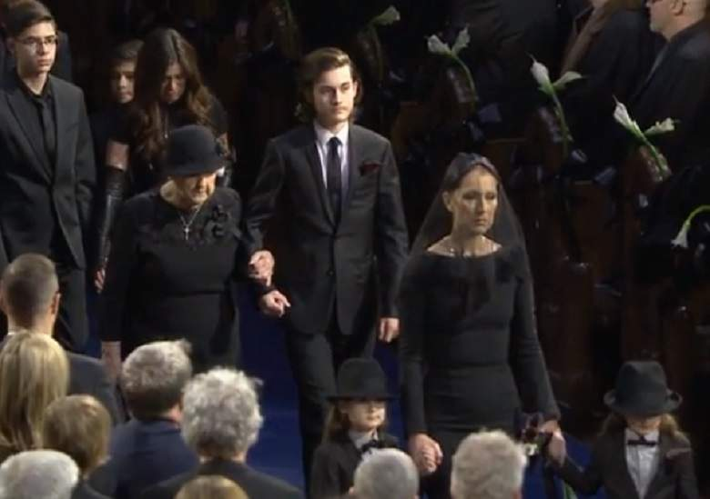 Was Celine Dion Showcased At Husband Rene Angelil S Funeral My Little Corner Of Life