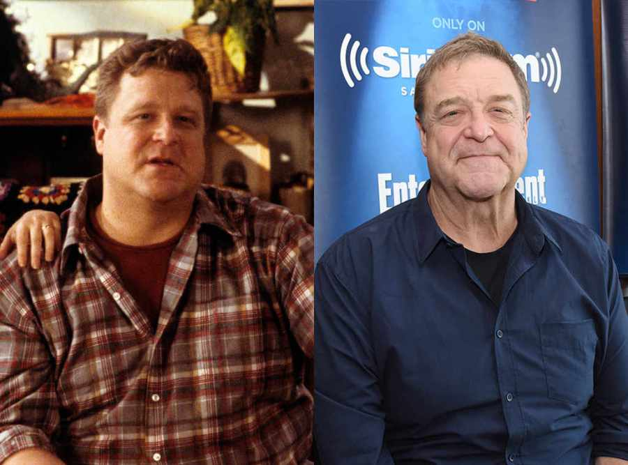 John Goodman then and now