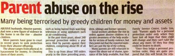 parent abuse