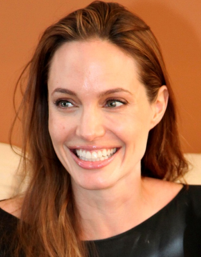 Really, this is Angelina Jolie and I know nothing about her.  This piece isn't about her anyway.