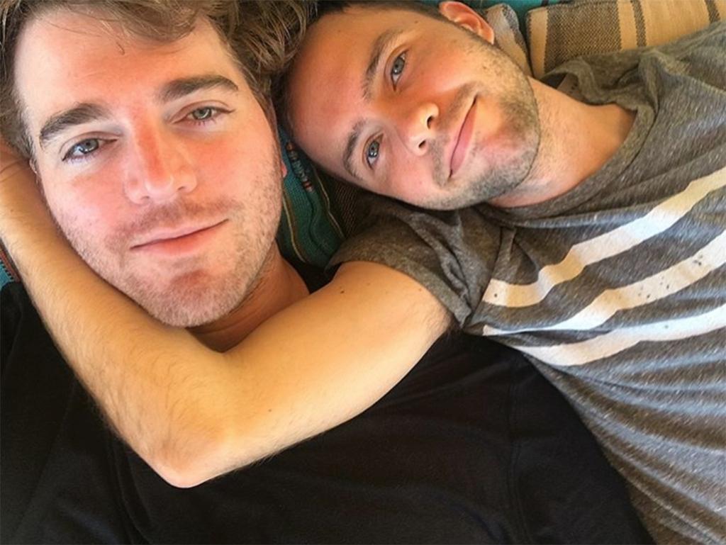 Shane Dawson/Glossin with boyfriend/fiance Ryland Adams